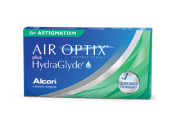Air Optix Plus HydraGlyde for Astigmatism 6pcs.