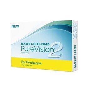 Kontaktlinsen PureVision 2 for Presbyopia MultiFocal 3 Stck.